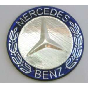 Mercedes Benz (Blue with Silver Trim Logo) Steering Wheel