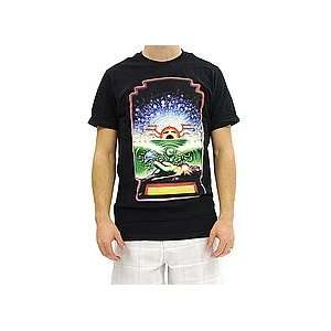 Hurley Cosmic Forces Premium Tee (Black) Medium   Shirts