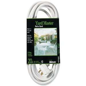 Woods 992222 20 Foot Outdoor Extension Cord with Power