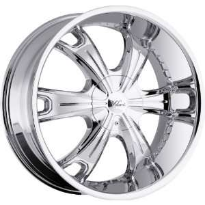 Milanni Stellar 5x115 5x139.7 5x5.5 +18mm Chrome Wheels Rims Inch 17
