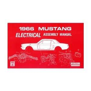 1966 FORD MUSTANG Electrical Assembly Manual Book
