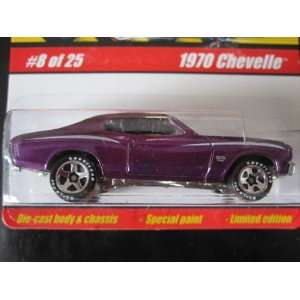 1970 Chevelle (Spectraflame Purple) 2005 Hot Wheels Classics #8 Series