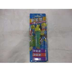 Semi Truck Pez Dispenser Yellow Cab Green Tube 3 Candy