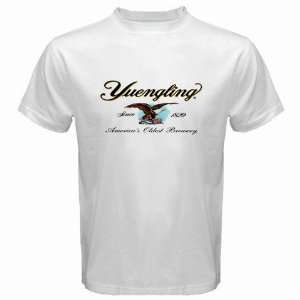 Yuengling Beer Logo New White T Shirt Size  2XL