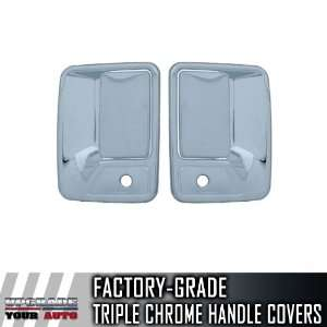 1999 2012 Ford Super Duty 2dr Chrome Door Handle Covers