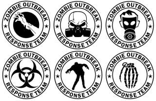 Be sure to check out all our other Zombie Outbreak Response Team