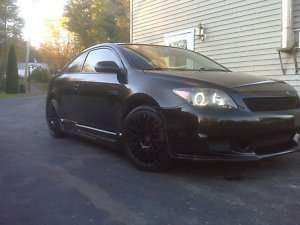 18 TENZO R TYPE M GLOSS BLACK RIMS & TOYO T1R PROXES