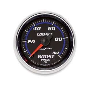 Auto Meter 6106 Cobalt 2 1/16 0 100 PSI Mechanical Boost