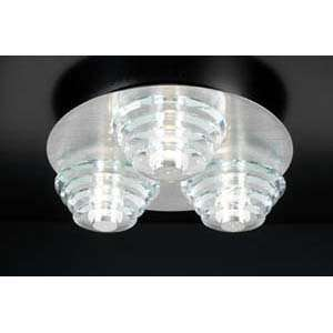 PLC Lighting 81771 Dralion Aluminum Flush Mount