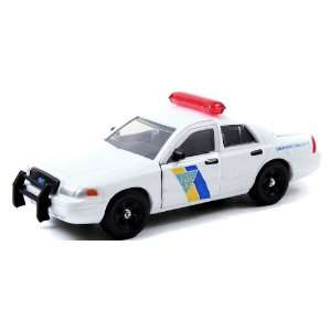 Jada 1/32 New Jersey State Police Ford Crown Vic Toys & Games