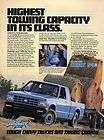 1983 chevy chevrolet s 10 maxi cab 4x4 hay bale farm pickup truck ad