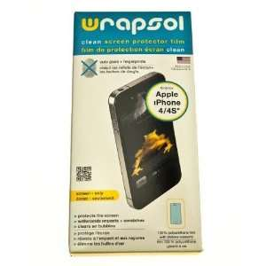 Wrapsol CLEAN Anti Fingerprint Screen Protector for Apple