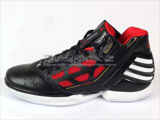 Adizero Rose 2 Black/Red/White Basketball 2011 Mens Derrick G22887