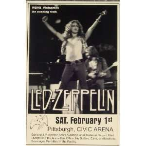 Led Zeppelin Page Plant 1975 Civic Arena Pittsburgh LIVE