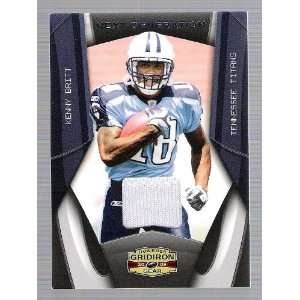 Donruss Gridiron gear   Kenny Britt   Game Used Jersey
