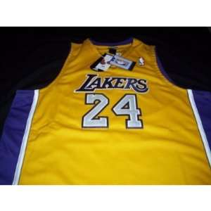 Kobe Bryant Adidas Authentic Gold Los Angeles Lakers Home Jersey Size