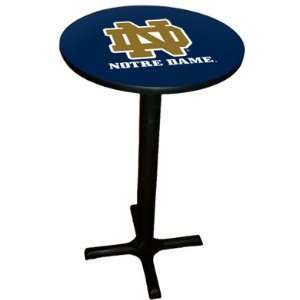 Notre Dame Fighting Irish Pool Hall/Bar/Pub Table   Black