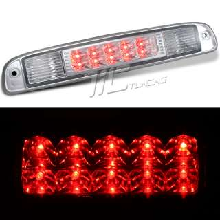 DAKOTA PICKUP TRUCK THIRD CHROME LED 3RD BRAKE TAIL LIGHT LAMP