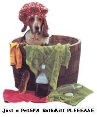 Pet Bathing / Grooming Set for Small Dog Breeds / Cats