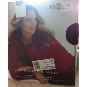 Charter Club Body Wrap Blanket Red