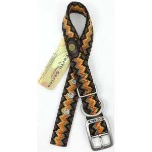 Hamilton Durable Double Thick Nylon Dog Collar   20   Earth Tone