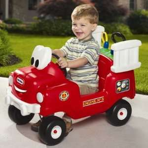 Little Tikes Spray & Rescue Fire Truck Toys & Games