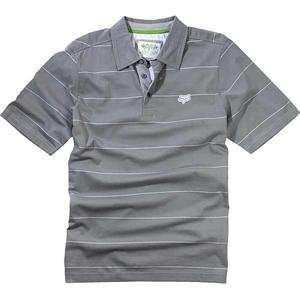 Fox Racing Fling Polo   Medium/Grey Automotive