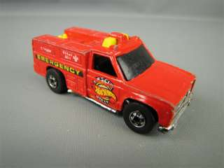 1974 Hot Wheels Toy Emergency Squad Truck Diecast