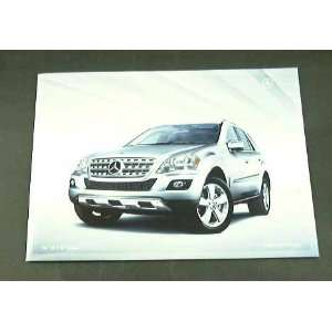 2010 10 Mercedes Benz M Truck SUV BROCHURE ML350 ML450