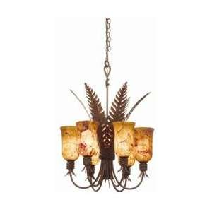 Kalco 5201BA Bark Naples Tropical / Safari Tropical / Safari 8 Light