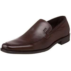 Hugo Boss Mens Chesterfield Medium Brown Casual Loafer Formal Dress