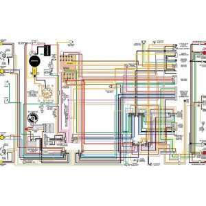 1975 1976 1977 Ford Bronco Color Wiring Diagram