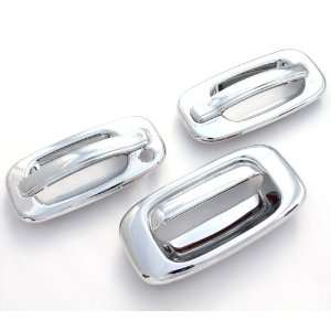 Sierra 1500 2500 3500 (2 Doors) Chrome Door Handle & Tailgate Covers
