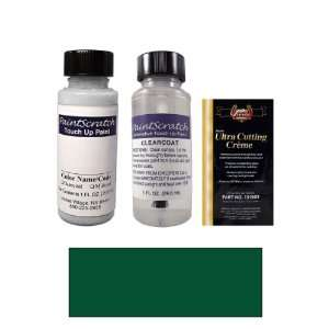 1 Oz. Deep Jewel Green Metallic Paint Bottle Kit for 1991 Ford