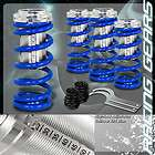 97 Honda Accord Blue Suspension Coilovers Lower Springs Kit w/ Scale