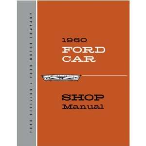 1960 FORD FAIRLANE FALCON GALAXIE etc Service Manual