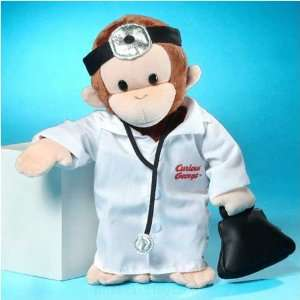 Doctor Curious George 12 inch Plush Toy Toys & Games