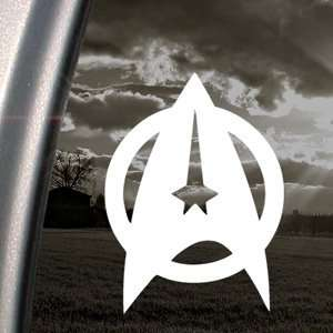 Star Trek Starfleet Shield Decal Window Sticker