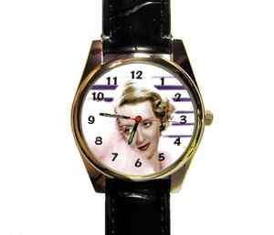 BETTY DAVIS WRIST WATCH LADYS, MENS, GIRLS, BOYS NOVELTY WATCH