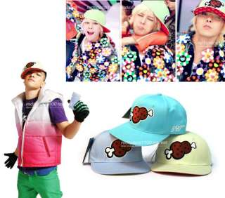 BIGBANG TAEYANG & G Dragon Meat Cap BIG BANG (1ea)