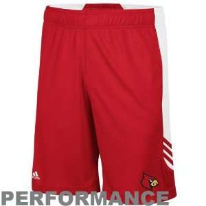 adidas Louisville Cardinals Red White Scorch Performance