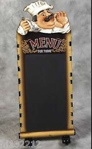 Restaurant Menu Chalk Board/Blackboard