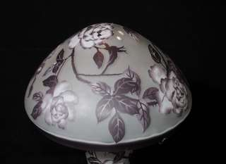 French Art Nouveau Galle Lamp Table Light Glass