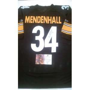 Rashard Mendenhall Signed Authentic Pittsburgh Steelers