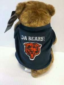 Officially Licensed NFL Chicago Bears Da Bear stuffed animal