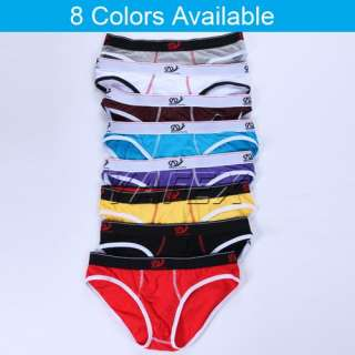 New Sexy Mens Low rise Cotton Underwear Enhance pouch tanga briefs