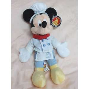 Disneys Chef Mickey Mouse Bean Bag, Not a Beannie Baby
