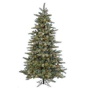 Glittered 180 Warm White LED Lights Christmas Tree (A111446LED