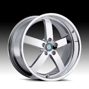 19x8.5 Beyern Rapp (Chrome) Wheels/Rims 5x120 (1985BYR155120C72)