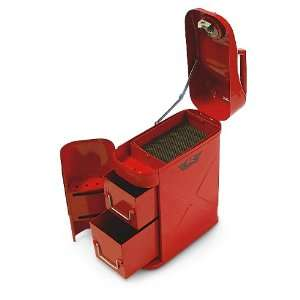 Trail Can / Utility Tool Box Red